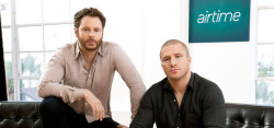 Sean Parker and Partner Shawn Fanning, Co Founders of Airtime