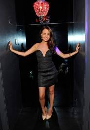 True Blood and Californication Star Camilla Luddington Parties At Chateau Nightclub In Las Vegas