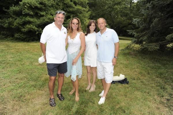 Campion and Tatiana Platt with friends