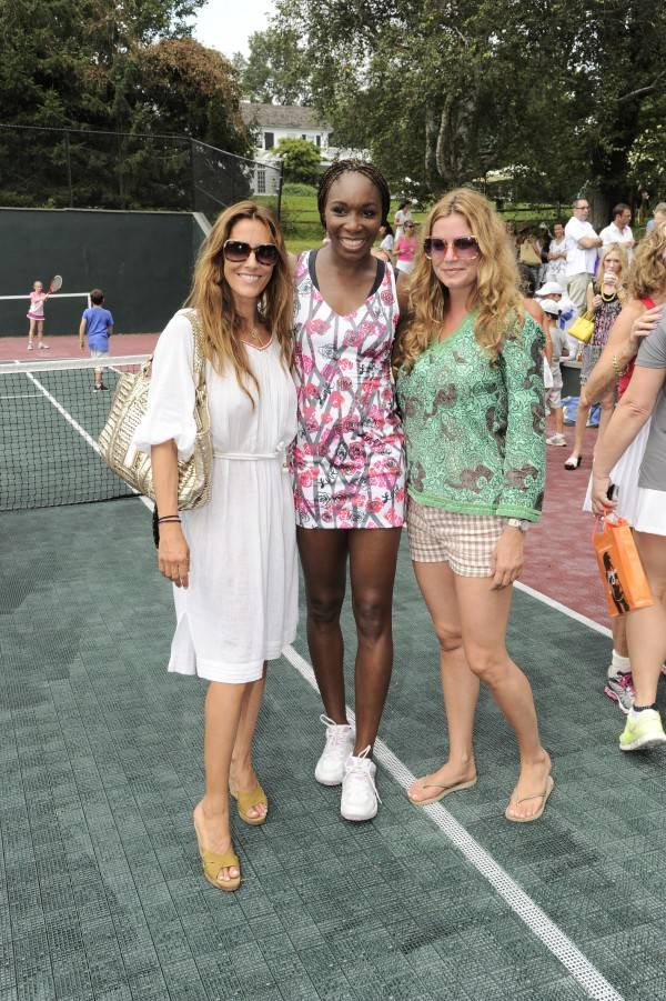 Cristina Greeven Cuomo, Venus Williams and Gigi Howard