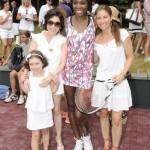 Darcy Miller Nussbaum, Venus Williams and Dylan Lauren