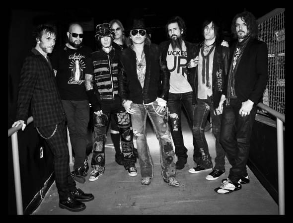 Guns N' Roses band image