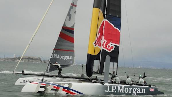 J. P. Morgan Ben Ainslie Racing sail by Alcatraz