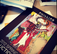 Yeah a new Phillips de Pury catalog! Amazing auction house. —Kelly Wearstler
