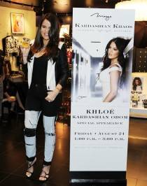 Khloe Kardashian makes a special appearance at Kardashian Khaos. Photos: Denise Truscello/WireImage