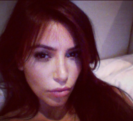 Night Night. –Kim Kardashian