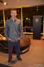Spencer Berke of Automobili Lamborghini