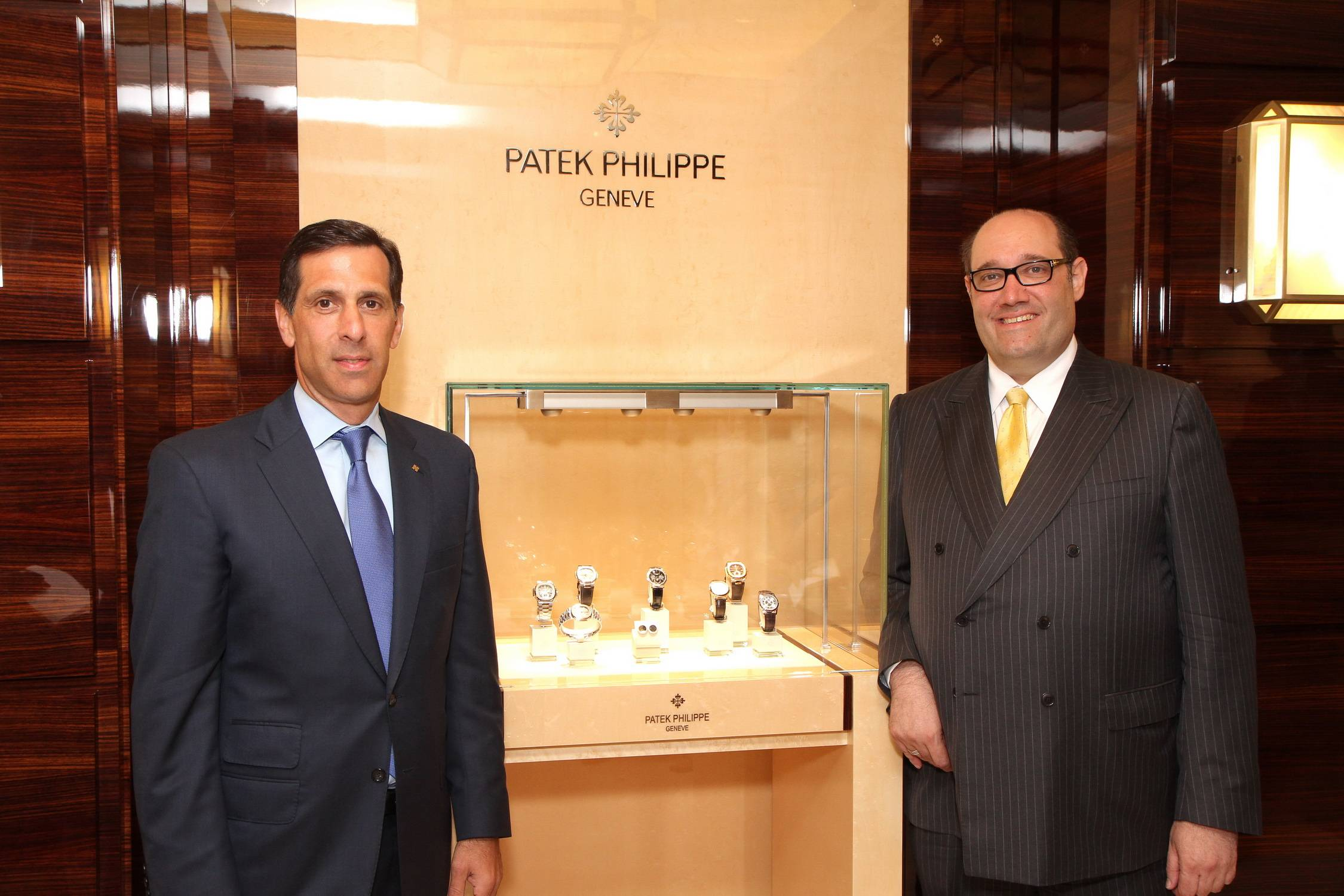 Larry Pettinelli + Tom Blumenthal Patek Philippe