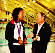 NYC is proud to welcome home 17-year-old Lia Neal, Brooklyn's own Olympic Champion!—Michael Bloomberg