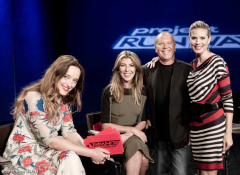 The ‪Project Runway gang with guest judge ‪Temperley World! —Michael Kors
