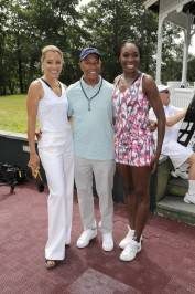 Michael Michele, Russell Simmons, and Venus Williams