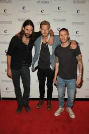 Miike Snow on the red carpet at Marquee.