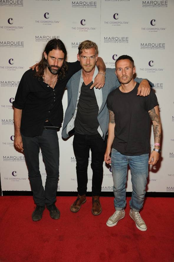 Miike Snow Marquee Red Carpet