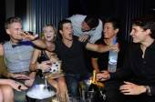 Parker Young and his friends celebrate his 24th birthday at Chateau.