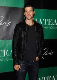 Parker Young on the red carpet at Chateau.