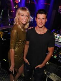 Brit Morgan and Parker Young at Chateau. Photos: David Becker/WireImage