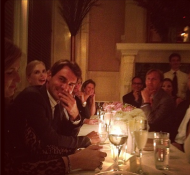Roger Federer at his Birthday Dinner