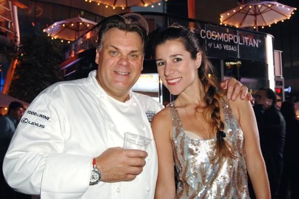 The Cosmopolitan of Las Vegas at Los Angeles Food & Wine 2012 Day 3