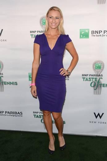 Tennis player Mirjana Lucic