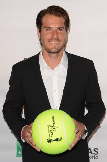 Tennis player Tommy Haas