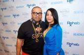 Timbaland-and-Monique-Mosley-Arrivals-photo-credit-Hew-Burney