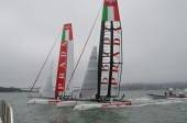 Two Prada Luna Rossa teams