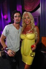 Tyson Ritter and Mary Carey at Chateau.