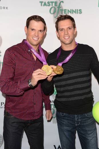 US Olympic Gold Medalists Bob and Mike Bryan