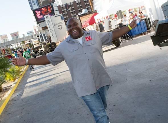 in Las Vegas, NV on July 7, 2012