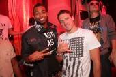 Cullen Jones and Ryan Lochte at XS Nightclub. Photos: Danny Mahoney/XS Nightclub