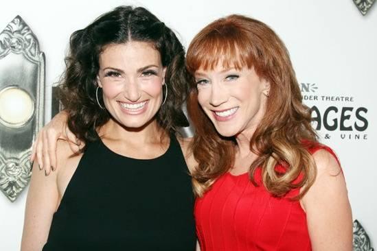 Idina Menzel & Kathy Griffin