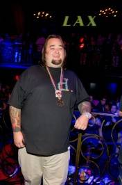 Chumlee at LAX Nightclub.