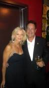 Marcia Cope-Hart and Dan Akroyd at the Foundation Room