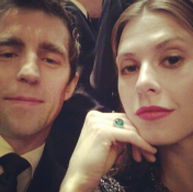 Date night with James Marshall at The Met Ballet.—Elettra Wiedemann