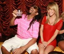 Lil Jon and Sara Underwood. Photos: Bryan Schnitzer