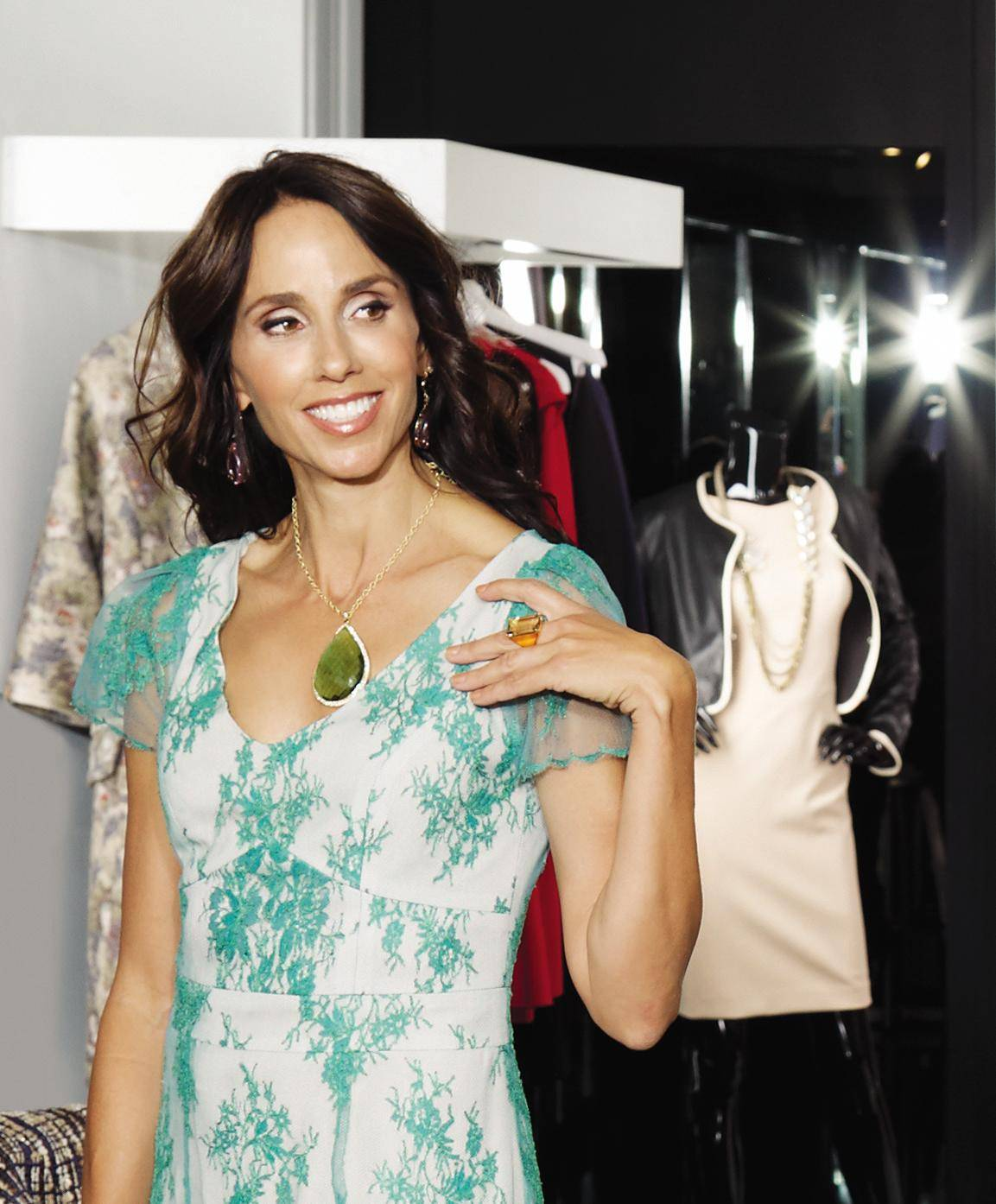 Lepa Roskopp isthe co-founder/designerofMisahara Jewelry and Cofounder of True Collection.