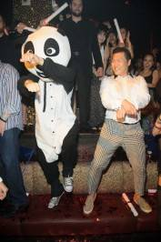 "Panda and Psy go ""Gangham Style"" at Tao."