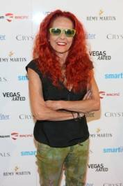 Patricia Field at Fashions Night Out at Crystals. Photos: Powers Imagery LLC