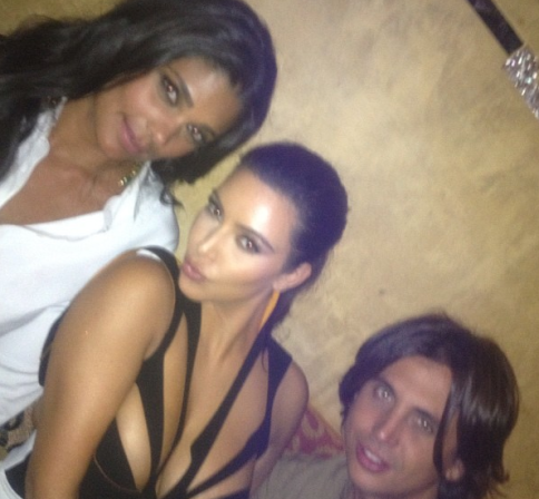 Friends Fashion Fun Rachel Roy and Jonathan Cheban. —Kim Kardashian
