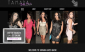Hey! Check out my new look Tamara gives back website! Don't forget I'm donating my luxurious pieces.—Tamara Ecclestone