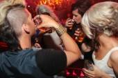 Teen Mom 2's Chelsea Houska and friends take shots at Rain Nightclub.