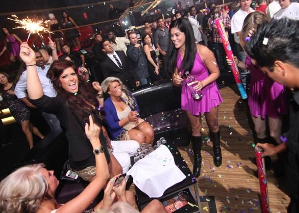 Teen Mom 2's Chelsea Houska celebrates 21st birthday at Rain Nightclub in Las Vegas 8.31.12