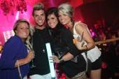 Teen Mom 2's Chelsea Houska with friends at Rain Nightclub.