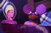 Michael Phelps and Deadmau5 at XS Nightclub.