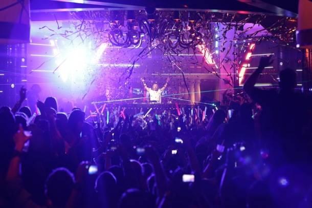 XS Nightclub 9.2.12 - David Guetta Crowd
