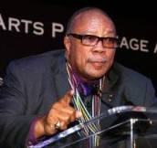 Haute 100 LA Update: Quincy Jones Accepts Montblanc's de la Culture Arts Patronage Award