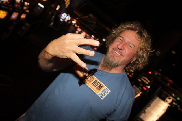 9.28 Sammy Hagar spotted in Hard Rock Hotel & Casino, credit Hew Burney