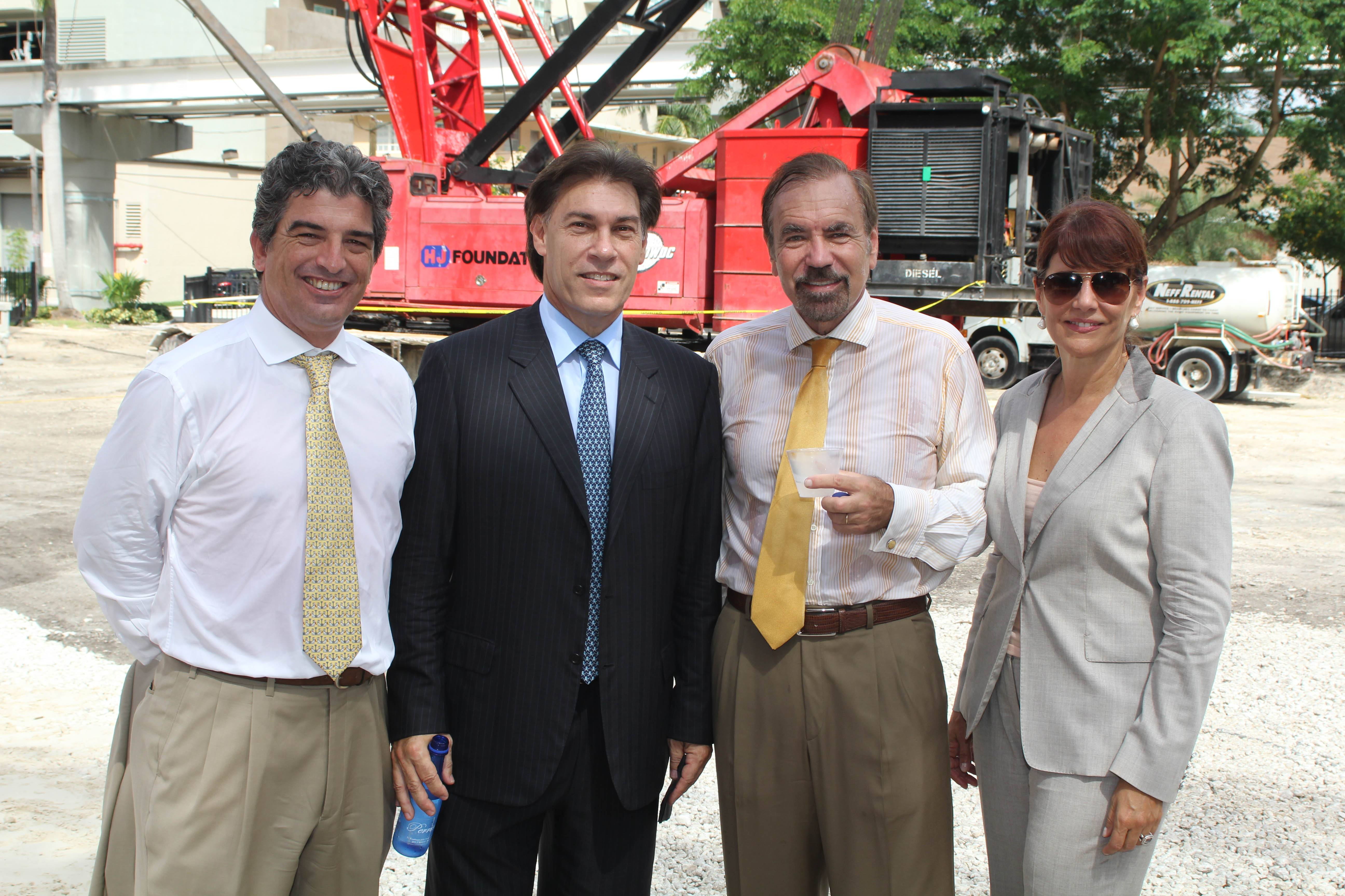 Carlos Rosso, Edgardo Defortuna, Jorge Perez, Sonia Figueroa
