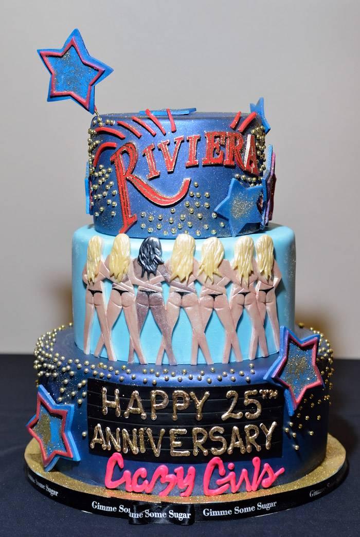 Crazy Girls Cake