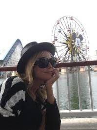 It really is the happiest place on earth!! —Heidi Klum